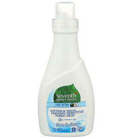SEVENTH GENERATION SEVENTH GENERATION FABRIC SOFTENER, FREE AND CLEAR, 32 FL. OZ.