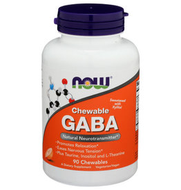 NOW® NOW CHEWABLE GABA NATURAL NEUROTRANSMITTER DIETARY SUPPLEMENT, 90 COUNT