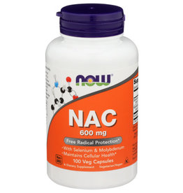 NOW FOODS NOW FOODS NAC-ACETYL CYSTEINE 600 MG, 100 CAPSULES
