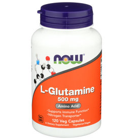 NOW® NOW FOODS L-GLUTAMINE 500 MG, 120 CAPSULES