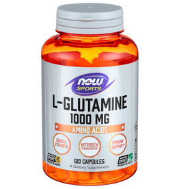 NOW FOODS NOW FOODS L-GLUTAMINE 1000 MG, 120 CAPSULES
