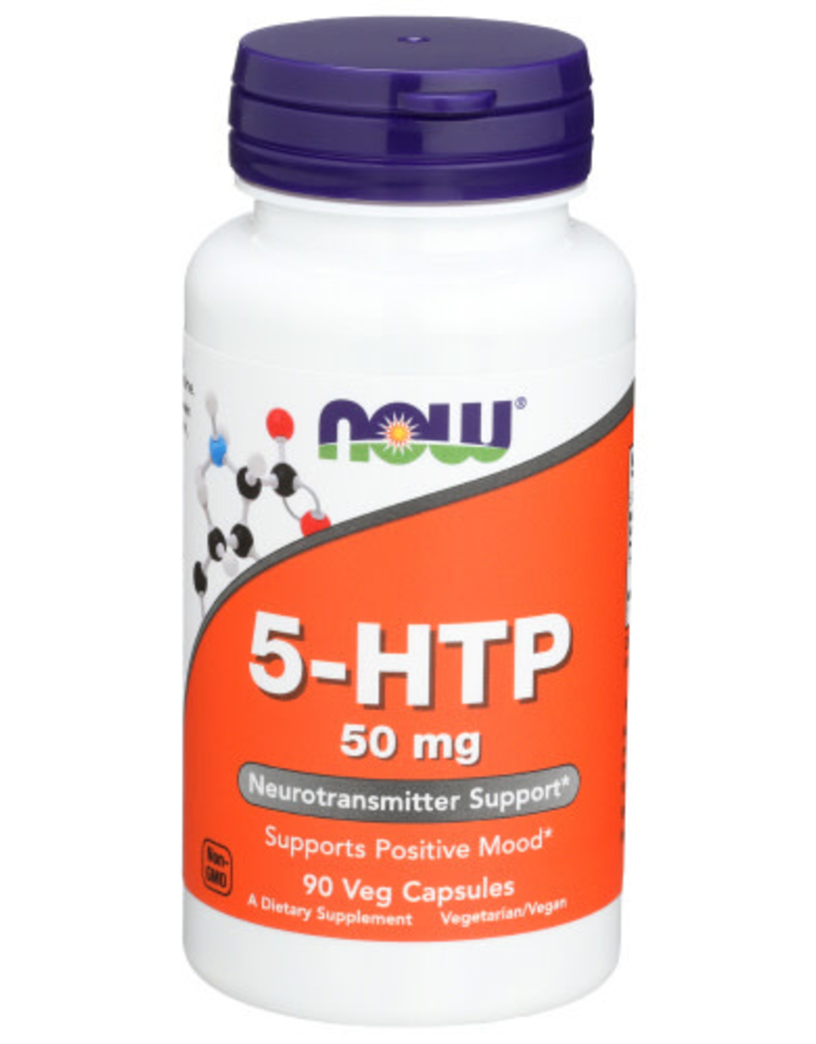 NOW FOODS NOW FOODS 5-HTP 50 MG, 30 CAPSULES