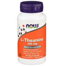 NOW FOODS NOW FOODS L-THEANINE 100 MG, 90 CAPSULES