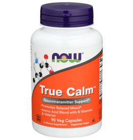 NOW® NOW FOODS TRUE CALM AMINO RELAXER, 90 CAPSULES