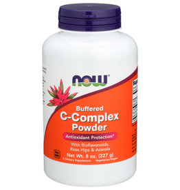 NOW FOODS NOW BUFFERED C-COMPLEX POWDER DIETARY SUPPLEMENT, 8 OZ.