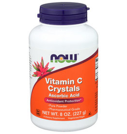 NOW® Vitamin C Crystals 8oz