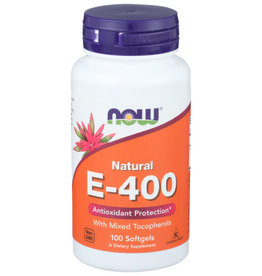 NOW FOODS NOW FOODS E-400 MIXED TOC, WITH MIXED TOCOPHEROLS, 100 SOFTGELS