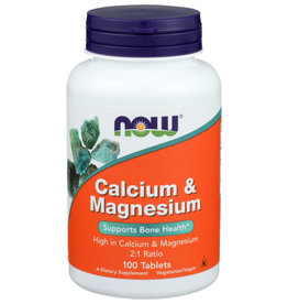 NOW FOODS NOW FOODS CAL-MAG 500/250 MG, 100 TABLETS