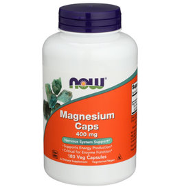 NOW FOODS NOW FOODS MAGNESIUM 400 MG, 180 EACH