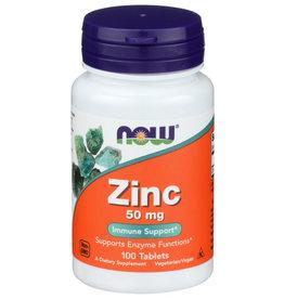 NOW ® Zinc, 50mg, 100 tablets
