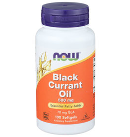 NOW FOODS NOW FOODS BLACK CURRANT OIL 500 MG, 100 SOFTGELS