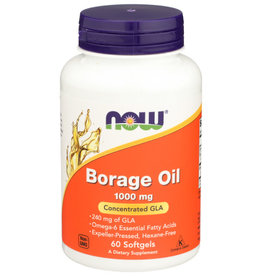NOW FOODS NOW FOODS BORAGE OIL 1000 MG, 60 SOFTGELS
