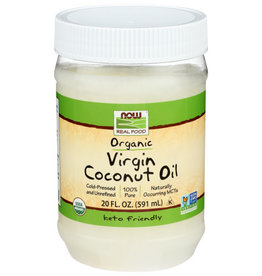 NOW® Now Org Virgin Coconut Unrefined 20oz