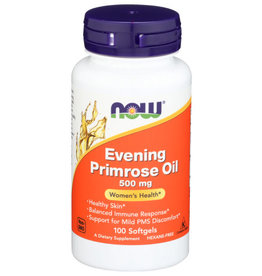 NOW® NOW EVENING PRIMROSE 500 MG, 100 SOFTGELS