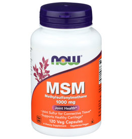 NOW FOODS NOW FOODS M.S.M. 1000 MG, 120 CAPSULES
