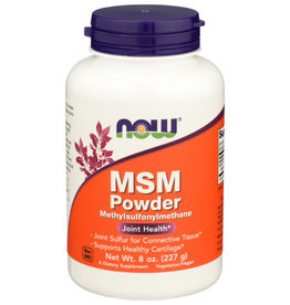 NOW FOODS NOW FOODS M.S.M. PURE POWDER, 8 OZ.