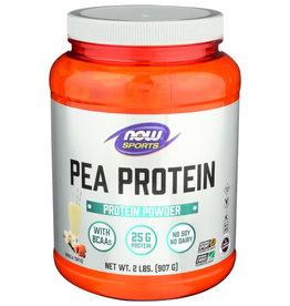 NOW SPORTS® Now Sports Pea Protein Vanilla Toffee Protein Powder 2lbs