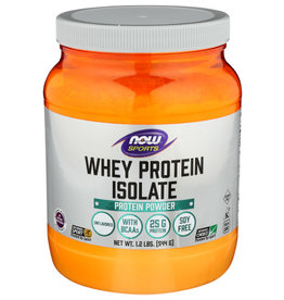 NOW FOODS Now Sports Whey Protein Isolate Protein Powder 1.2lbs