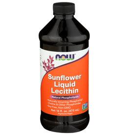 NOW FOODS Now Sunflower Liquid Lecithin Natural Phospholipids 16 oz