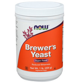 NOW® NOW BREWER'S YEAST POWDER, 1 LB.
