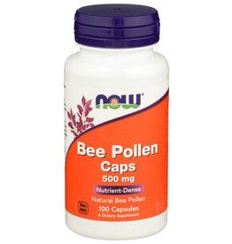 NOW FOODS NOW BEE POLLEN CAPS DIETARY SUPPLEMENT, 100 COUNT