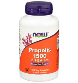 NOW FOODS Now Propolis 1500mg 100 Capsules
