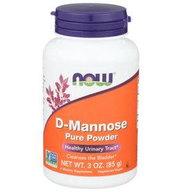 NOW® NOW D-MANNOSE PURE POWDER, 3 OZ.