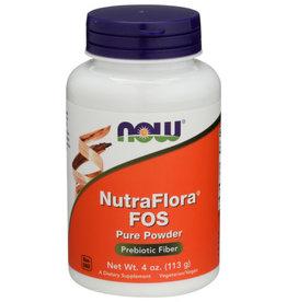 NOW FOODS NutraFlora FOS Powder 113g 4 OZ