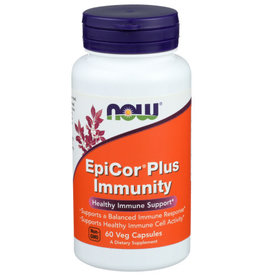 NOW FOODS NOW EPICOR PLUS IMMUNITY DIETARY SUPPLEMENT CAPSULES, 60 COUNT