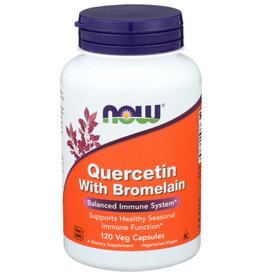 NOW FOODS NOW FOODS QUERCETIN WITH BROMELAIN, 120 CAPSULES