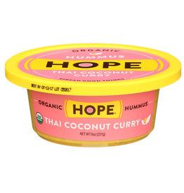HOPE FOODS HOPE FOODS HUMMUS, ORGANIC THAI COCONUT CURRY, 8 OZ.
