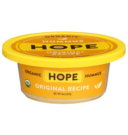 HOPE FOODS HOPE FOODS HUMMUS, ORGANIC ORIGINAL RECIPE, 8 OZ.
