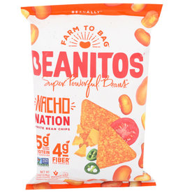 BEANITOS™ BEANITOS CHIPS, WHITE BEAN NACHO CHEESE, 6 OZ. BAG