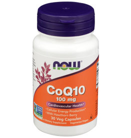 NOW FOODS NOW COQ10 DIETARY SUPPLEMENT, 30 CAPSULES