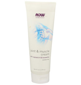 NOW® SOLUTIONS Now Joint & Muscle Support Cream 4 oz