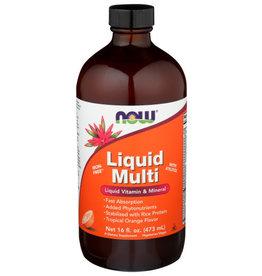 NOW® NOW FOODS LIQUID MULTI–ORANGE, 16 FL. OZ.