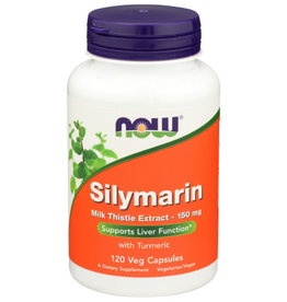 NOW FOODS NOW SILYMARIN 150 MG. MILK THISTLE EXTRACT WITH TURMERIC DIETARY SUPPLEMENT, 120 COUNT