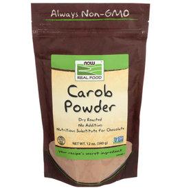 NOW FOODS NOW REAL FOOD CAROB POWDER, 12 OZ.
