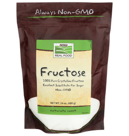 NOW REAL FOOD® NOW FOODS 100% PURE CRYSTALLINE FRUCTOSE, 24 OZ.
