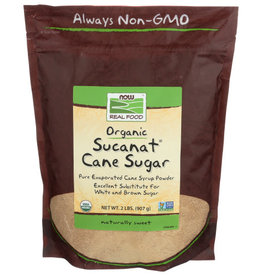 NOW REAL FOOD® Now Real Food OG Sucanat Cane Sugar 2 lbs
