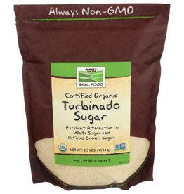 NOW REAL FOOD® Now Real Food OG Turbinado Sugar 2.5 lbs