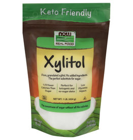 NOW REAL FOOD® NOW REAL FOOD NON-GMO XYLITOL, 1 LB.