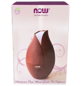 NOW® SOLUTIONS NOW FOODS OIL DIFFUSER FAUX WOODEN ULTRASONIC, 1 EACH