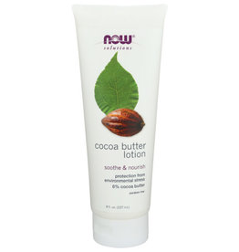 NOW® SOLUTIONS Cocoa Butter Lotion