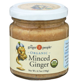 THE GINGER PEOPLE® THE GINGER PEOPLE ORGANIC MINCED GINGER, 6.7 OZ.