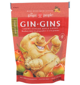 THE GINGER PEOPLE® THE GINGER PEOPLE GIN GINS SPICY APPLE CHEWY GINGER CANDY, 3 OZ.
