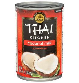 THAI KITCHEN® THAI KITCHEN COCONUT MILK, UNSWEETENED, 13.66 FL. OZ.