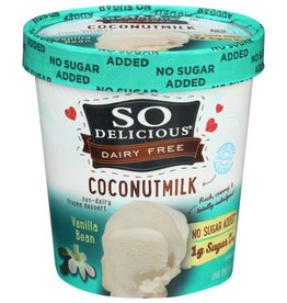 SO DELICIOUS® So Delicious Dairy Free Vanilla Bean Ice Cream 1 Pint