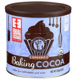 EQUAL EXCHANGE EQUAL EXCHANGE AUTHENTIC FAIR TRADE COCOA, BAKING COCOA, 224 G.