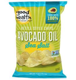GOOD HEALTH GOOD HEALTH AVOCADO OIL SEA SALT KETTLE CHIPS, 5 OZ.